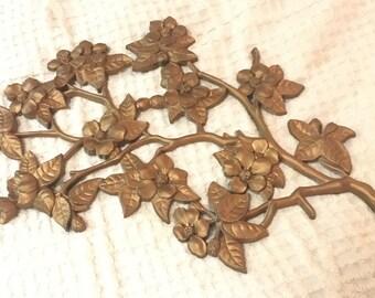 Dogwood Branch Wall Decor Vintage
