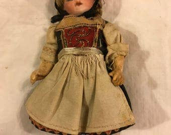 Antique German all original doll