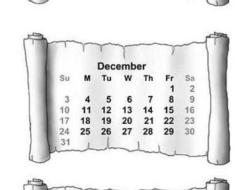 mini 2018 calendars