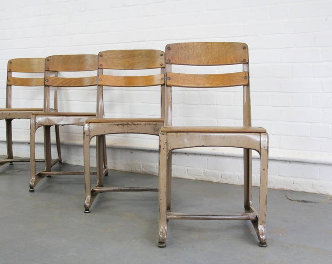 American Utility Chairs By Envoy Circa 1940s