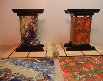Mini Japanese Lantern Zen Garden Lantern Zen Lantern Rice Paper Lantern Mini