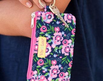 ID Case, Keychain, Womens Wallet, Womens Wristlet, Girls' Id Case, Teachers Gift, Student ID Case, Credit Card Wallet, ID Wallet, Coin Purse