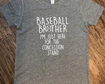 Baseball Brother - Concession Stand shirt!
