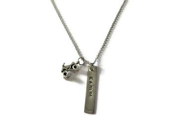 Personalized Motocross Necklace Pick Your Charm - Motocross Jewelry - Dirt Bike Necklace - Racing Jewelry - Motocross Necklace - Quad