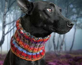 Noddy & Sweets Hand Knitted Snood [Rhapsody]