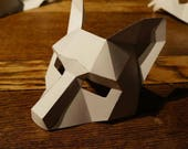 Make a Half Face Fox mask