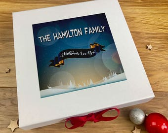 Personalised Christmas Eve Box, Xmas Eve Box, Christmas Gift For Kids, For Adults, Family, For Couples, Christmas Eve Crate Box Ideas 07