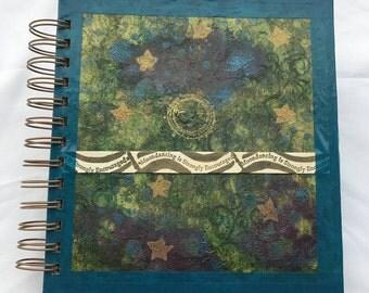 Moondancing spiral-bound journal