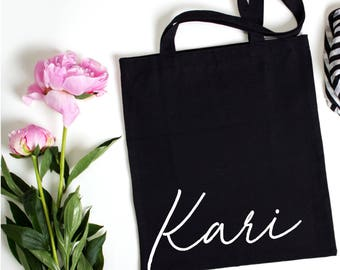 Personalized Tote, Bridesmaid Gift, Bridesmaid Tote, Personalized Gift, Wedding Party Gift, Bridal Party Bag,Wedding Totes, Bridal Totes