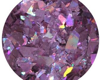 Jabberwocky Museum Body Glitter - Purple Holographic Chunky Body Glitter - Purple Shreds Hair Glitter - Glitter Lambs Body Glitter