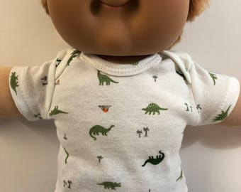 "Cabbage Patch Kids 16 inch BOY, Top ONLY 4.00 Dollars, Cool ""DINOSAURS"" Top Only, 16 inch Cabbage Patch Boy Clothes, Top Only - 4.00 Dollars"