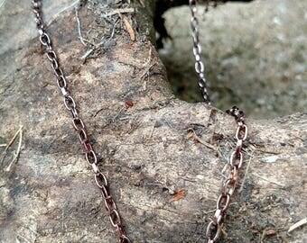 Necklace - Vintage Pearl Button