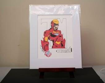 Iron Man - Original Copic Marker Illustration
