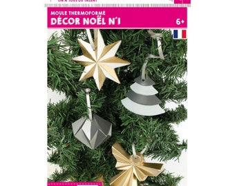 """Mold """"christmas decor"""" (cod.new)"""