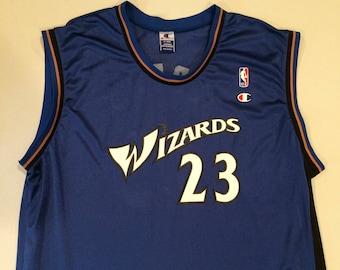 Michael Jordan Washington Wizards Champion Jersey XL