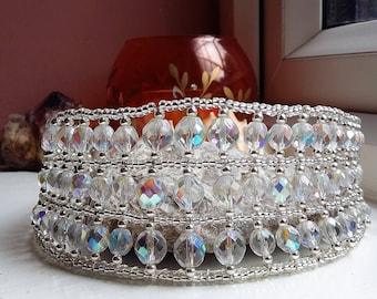 Silver and Crystal Bridal Tiara