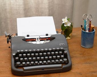 Portable typewriter JAPY P68, France, 1956
