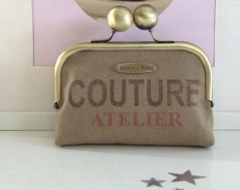 """Vintage """"Sewing workshop"""" wallet"""