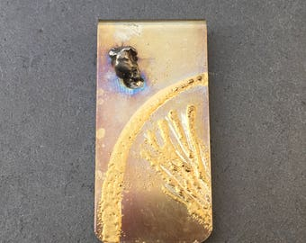 Gift for dad ideas - Meteorite Money Clip