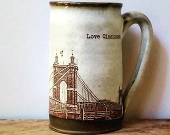 Roebling Bridge Mug