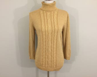 Gold sweater   Etsy