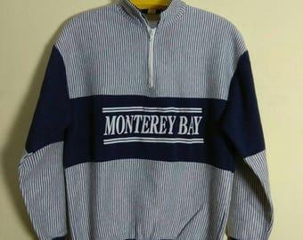 Vintage 90s California Monterey Bay Sweatshirt