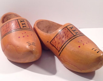 Vintage Wooden Dutch Shoes offered by Crafts by the Sea