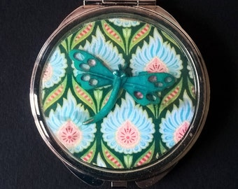 "Mirror pocket or bag "" DRAGONFLY """