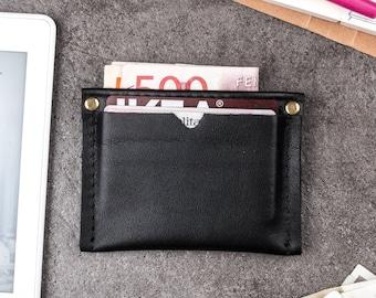 Mens leather wallet, slim wallet, wallet, minimalist wallet, leather card holder, personalized wallet, leather card wallet,  wallet men