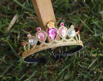 Aurora Crown,Aurora Headband,Baby Aurora Crown, Sleeping Beauty Crown,Aurora Tiara ,Woman Aurora Crown,Sleeping Beauty tiara