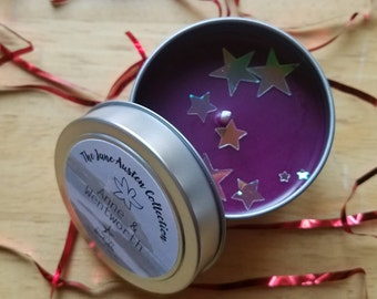 Anne & Wentworth 4 oz Candle / Persuassion / Jane Austen Candles / Anne Elliot / Captain Frederick Wentworth /Classic Gift Set / Love Candle