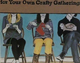 Craft In Project Booklets Set Of 12 Patterns And Instructions For Craft Event Gatherings New Sealed Free USA Shipping