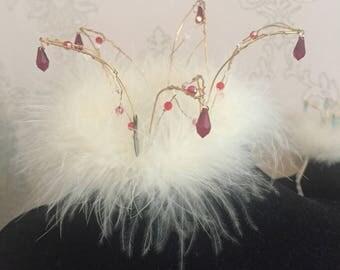 Handmade Crystal Crown