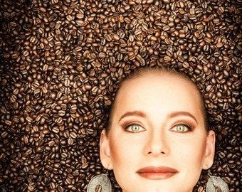 earrings coffee dreamcatcher