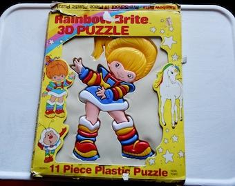 Vintage Rainbow Brite 3-D Puzzle