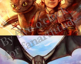 How to train your dragon toothless Arold Thothless dreamworks geek poster