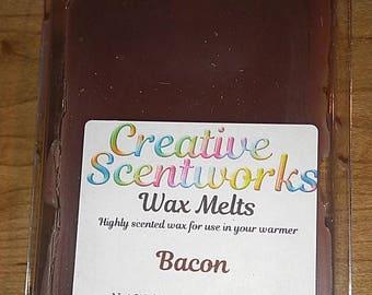 Bacon Scented Wax Melts, Wax Cubes, Wax Tart, Wickless Candle, Melting Wax, Wax Melt, Breakfast, Scent Bar, Scent Cube, Wax Bar