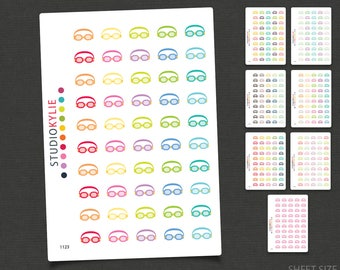 Swimming Goggles - Icon Planner Stickers  - Mini Collection