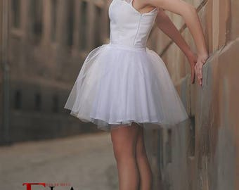 White ballerina dress