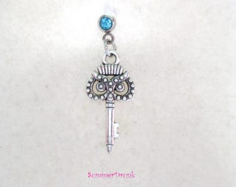 Key tragus earring, Tragus piercing, Tragus barbell, Tragus earring, Cartilage earring, Cartilage piercing, Helix earring,dream