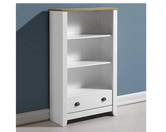 Ludlow Bookcase in White