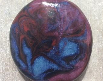 Handmade unique Colorful smoke stone , toke stone , cigarette holder ,