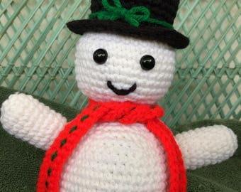 Amigurumi Snowman Crochet Snowman