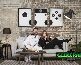 Xbox Art -  Xbox One Print Set