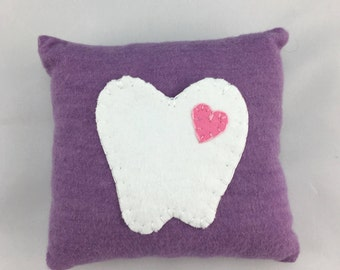 Tooth Fairy pillow, tooth fairy pocket, pocket tooth fairy, funny tooth fairy, little girl gift, childs keepsake, tooth pillow, tooth pouch
