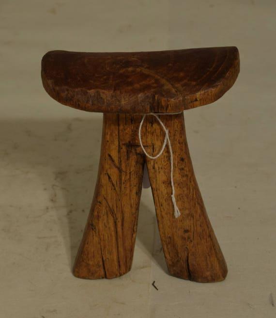 African Headrest Turkana Headrest Wood Africa Pillow Handmade Men Head Rest Hand Carved Wood Sleep PIllow Headrest