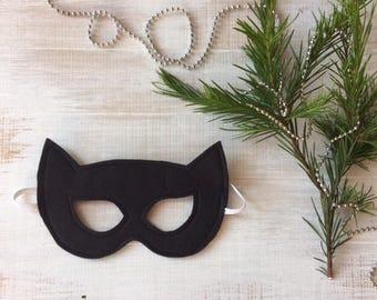 Catwoman Mask - Felt Superhero Mask