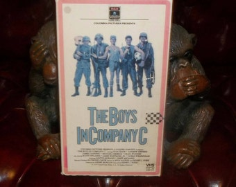 The Boys In Company C  VHS Video Rare 1977 Vietnam War Movie Full Metal Jacket, Platoon related
