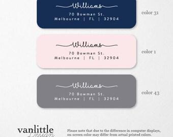 Personalized Return Address Labels, Custom Self-Adhesive Labels, Return Address Stickers, Return Address, Return Labels, RAL9