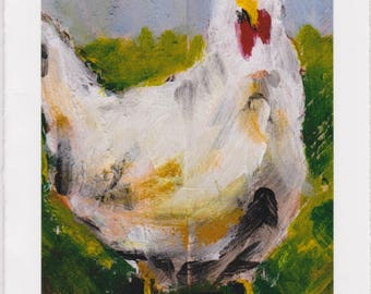 Chicken : Greeting Card #1012